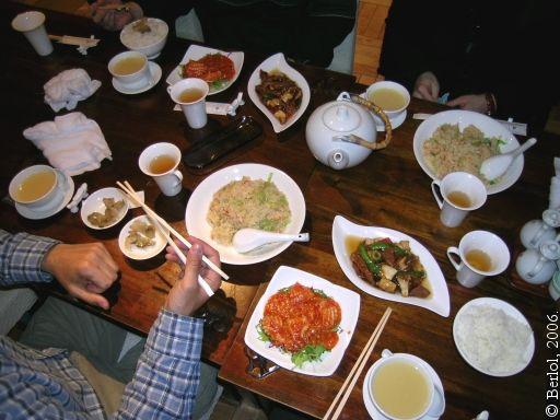 Les arri res cuisines des restaurants chinois - Restaurant chinois portes les valence ...